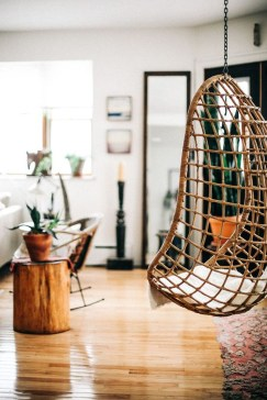 Modern Hanging Swing Chair Stand Indoor Decor 37