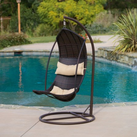Modern Hanging Swing Chair Stand Indoor Decor 39