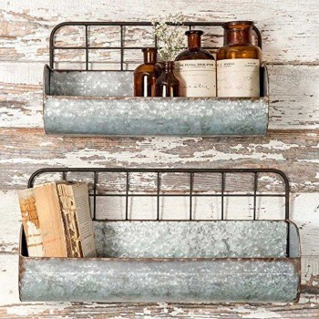 Rustic Country Bathroom Shelves Ideas Must Try 02
