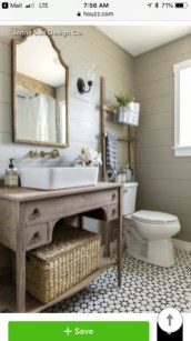 Rustic Country Bathroom Shelves Ideas Must Try 27