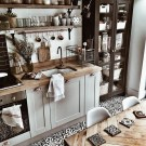 Rustic Country Bathroom Shelves Ideas Must Try 37