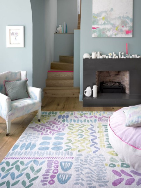 Dream Kitchen Brightened With A Pastel Color Palette 11