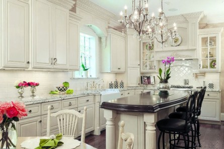 Dream Kitchen Brightened With A Pastel Color Palette 17
