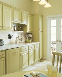 Dream Kitchen Brightened With A Pastel Color Palette 20