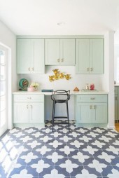 Dream Kitchen Brightened With A Pastel Color Palette 21