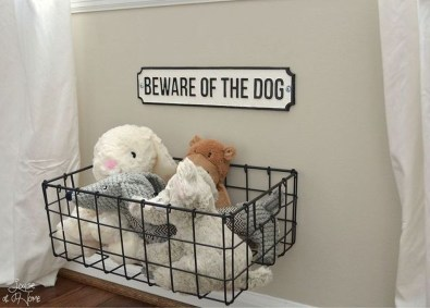 Amazing Hanging Kids Toys Storage Solutions Ideas09