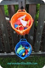 Amazing Hanging Kids Toys Storage Solutions Ideas14