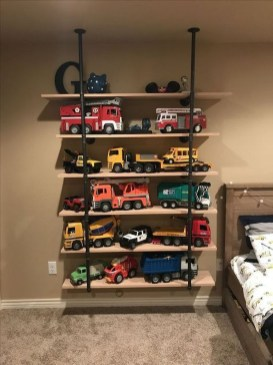 Amazing Hanging Kids Toys Storage Solutions Ideas19