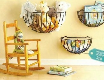 Amazing Hanging Kids Toys Storage Solutions Ideas37