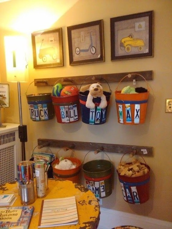 Amazing Hanging Kids Toys Storage Solutions Ideas45