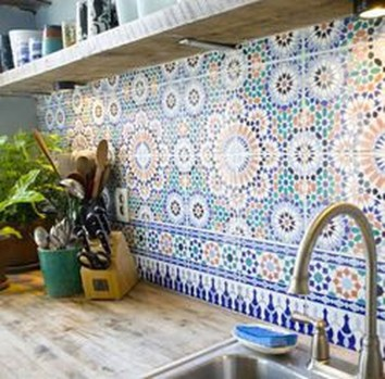 Amazing Home Kitchen Tile Design Ideas 2018 17