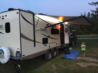 Amazing Rv Camper Trailer Pup Tent Must See35