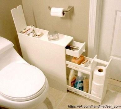 Amazing Small Rv Bathroom Toilet Remodel Ideas 26