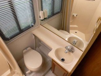 Amazing Small Rv Bathroom Toilet Remodel Ideas 27