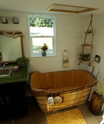 Amazing Small Rv Bathroom Toilet Remodel Ideas 28