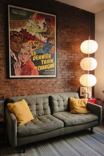 Artistic Vintage Brick Wall Design Home Interior04