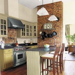 Artistic Vintage Brick Wall Design Home Interior06