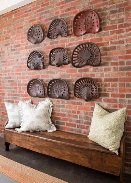 Artistic Vintage Brick Wall Design Home Interior07