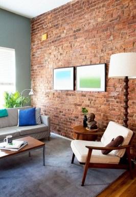 Artistic Vintage Brick Wall Design Home Interior13