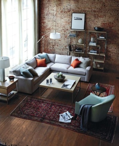 Artistic Vintage Brick Wall Design Home Interior24