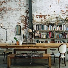 Artistic Vintage Brick Wall Design Home Interior29