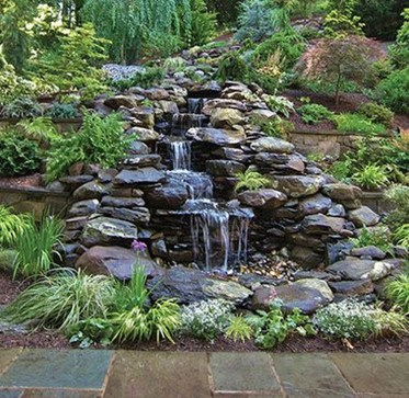 Awesome Small Waterfall Pond Landscaping Ideas Backyard11