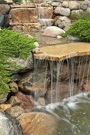 Awesome Small Waterfall Pond Landscaping Ideas Backyard19