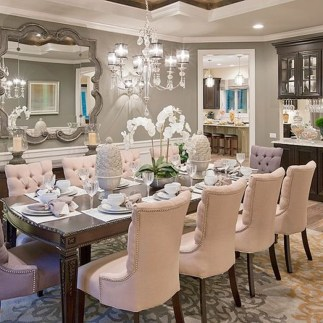 Elegant Dining Room Design Decorations09