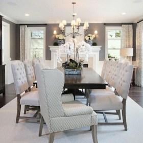 Elegant Dining Room Design Decorations15