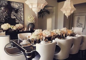 Elegant Dining Room Design Decorations16
