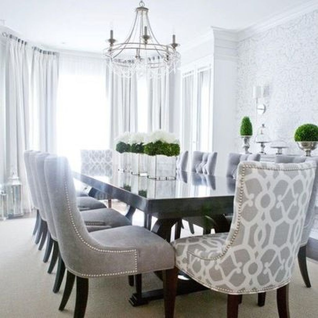 Elegant Dining Room Design Decorations20