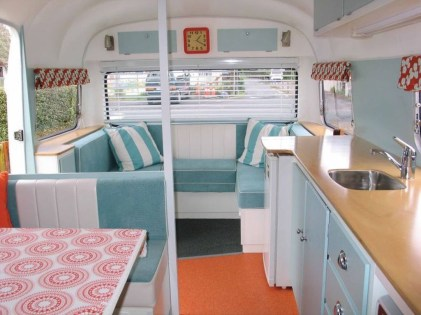 Fantastic Rv Camper Interior Ideas11