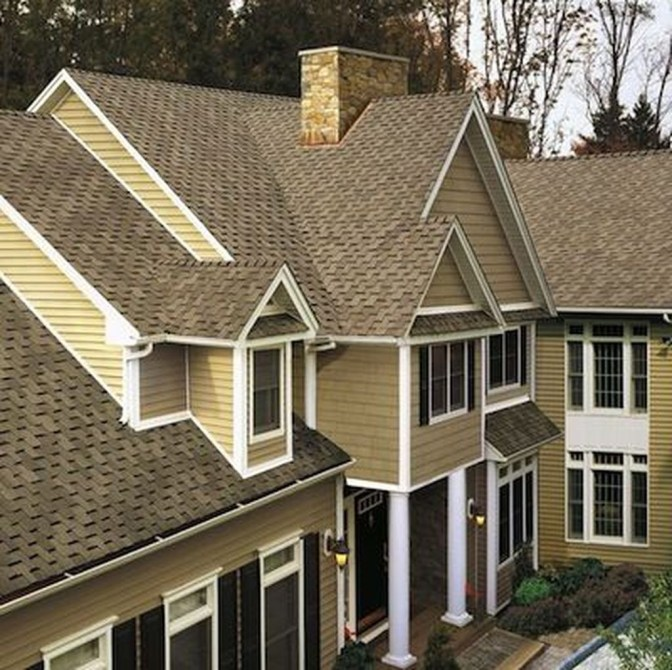 Ideas To Make Your Home Look Elegant With Vinyl Siding Color11