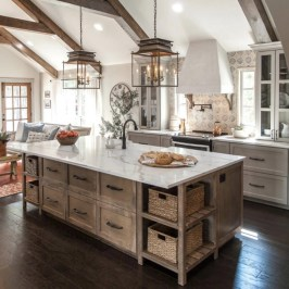 Inspiring Farmhouse Style Kitchen Cabinets Design Ideas33