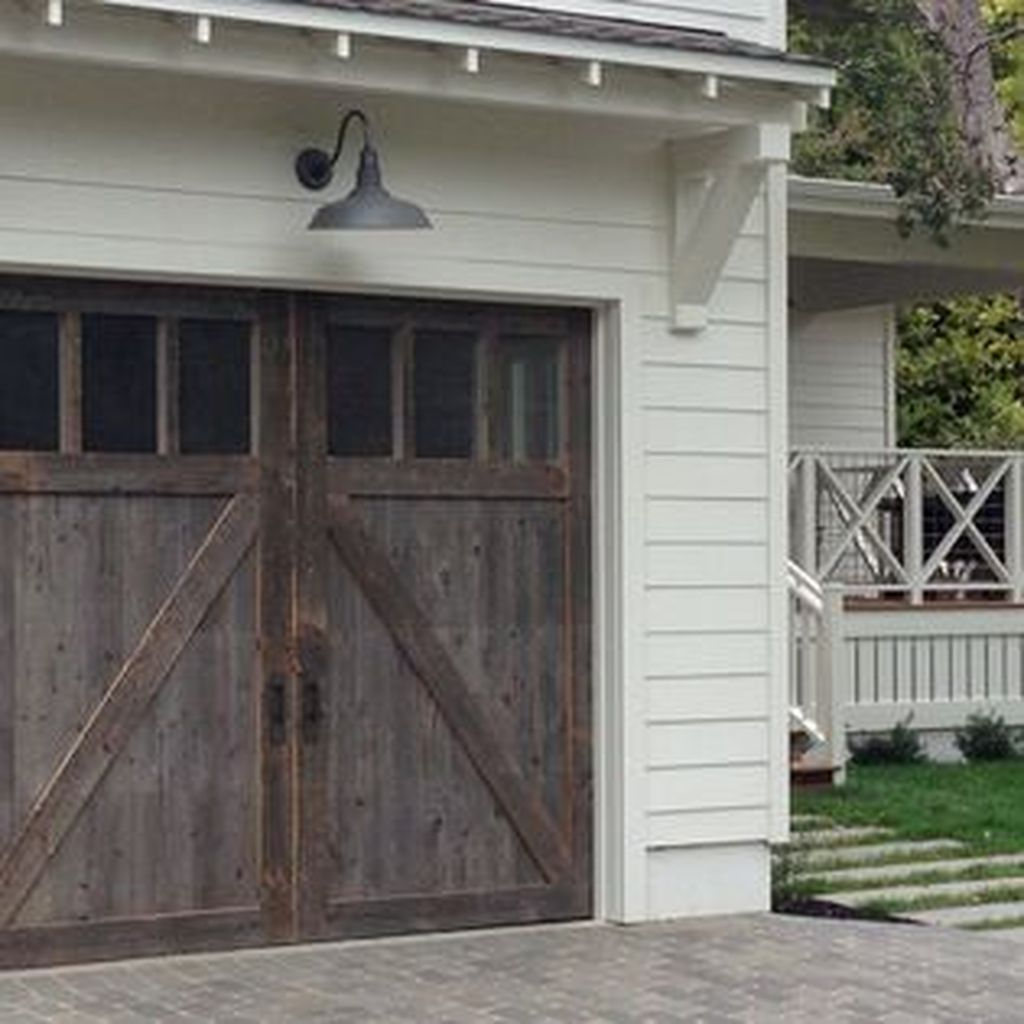 Inspiring Home Garage Door Design Ideas Must See23