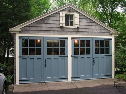 Inspiring Home Garage Door Design Ideas Must See24