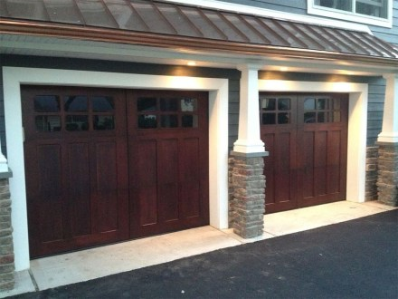 Inspiring Home Garage Door Design Ideas Must See25