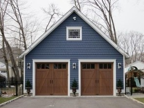 Inspiring Home Garage Door Design Ideas Must See35