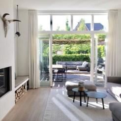 Inspiring Rustic Wooden Floor Living Room Design27