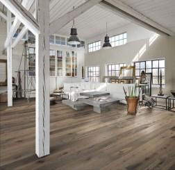 Inspiring Rustic Wooden Floor Living Room Design31