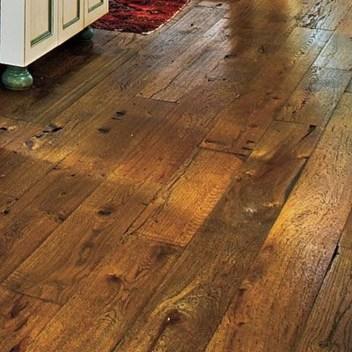 Inspiring Rustic Wooden Floor Living Room Design35