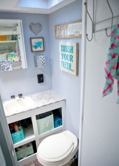 Inspiring Rv Bathroom Makeover Design Ideas21