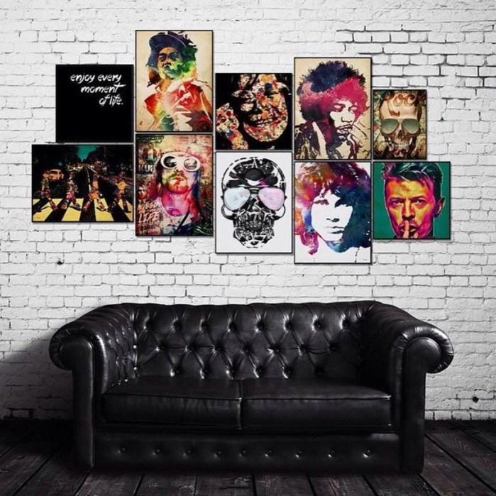 Ispiring Rustic Elegant Exposed Brick Wall Ideas Living Room01