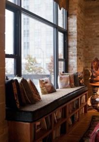 Ispiring Rustic Elegant Exposed Brick Wall Ideas Living Room29
