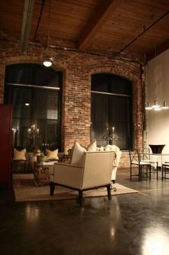 Ispiring Rustic Elegant Exposed Brick Wall Ideas Living Room48