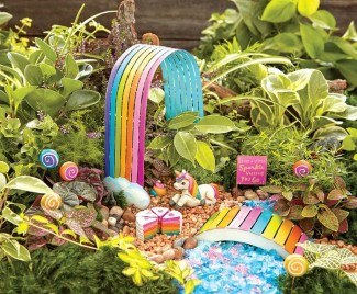 Stunning Fairy Garden Miniatures Project Ideas10