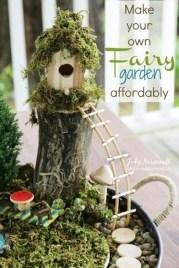 Stunning Fairy Garden Miniatures Project Ideas12