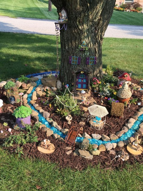 Stunning Fairy Garden Miniatures Project Ideas17