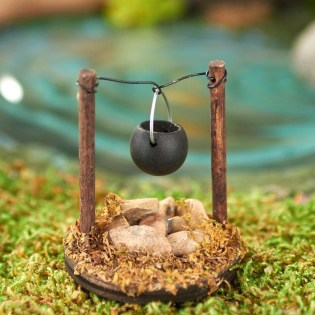 Stunning Fairy Garden Miniatures Project Ideas18