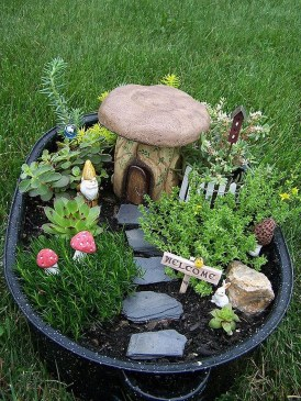 Stunning Fairy Garden Miniatures Project Ideas31